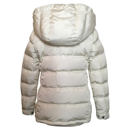 Prada Down quilted jacket in white