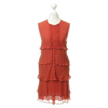 Other Designer Roberta Furlanetto - silk dress in rust