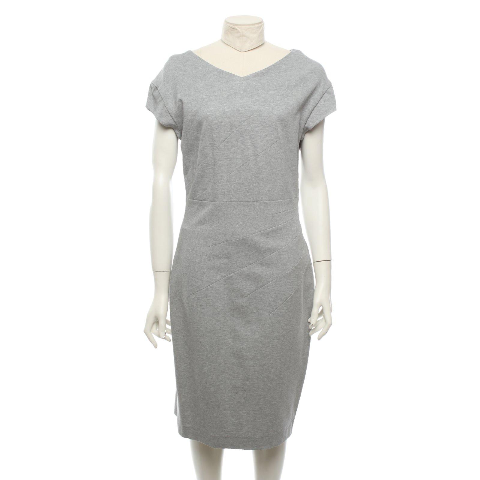Odeeh Kleid aus Jersey in Grau - Second Hand Odeeh Kleid aus