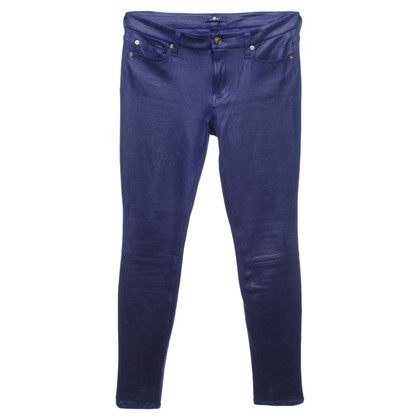 7 For All Mankind Pantaloni in similpelle
