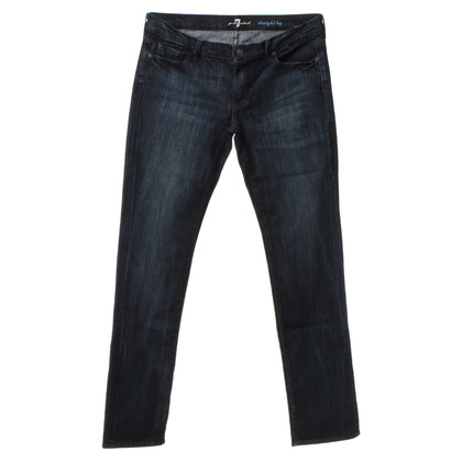 7 For All Mankind Jeans in donkerblauw