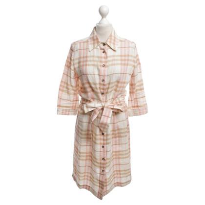 Burberry Hemdblusenkleid mit Karo-Muster