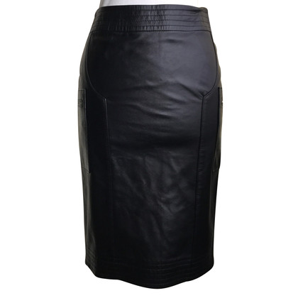 Borbonese Leather skirt
