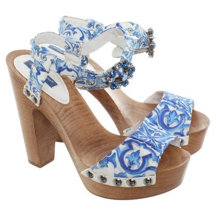 Dolce & Gabbana Sandals of wood