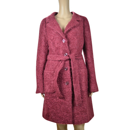 Max Mara Coat in claret