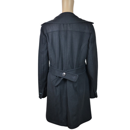 Malo Coat in black