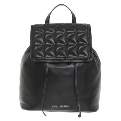 Karl Lagerfeld Rugzak in zwart
