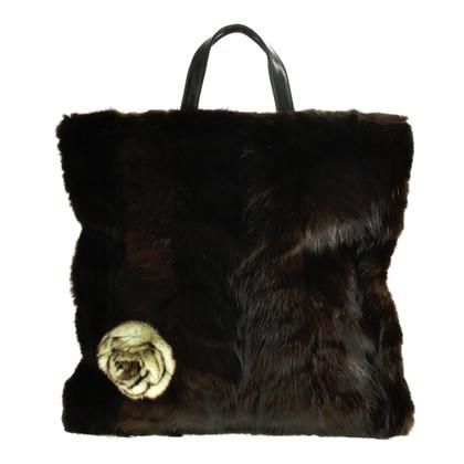 Loewe Tote bag with mink
