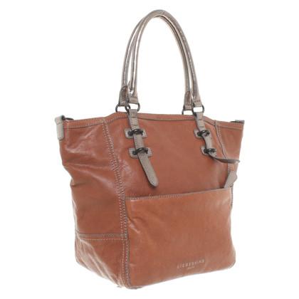 Liebeskind Berlin Shopper in brown / silver