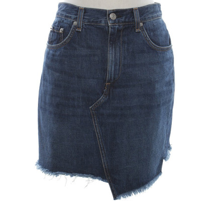 Rag & Bone Jeansrock in Blau