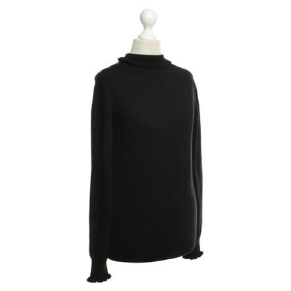 Valentino Maglione a collo alto in nero