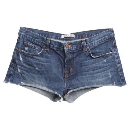 J Brand Short en jean en bleu