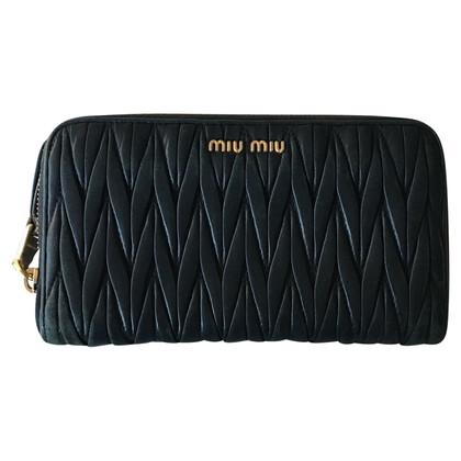 Miu Miu portafoglio nero