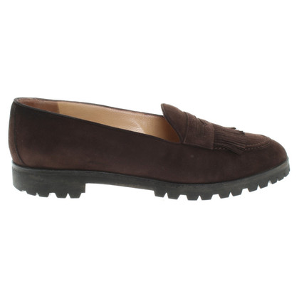 Rena Lange Slipper from suede