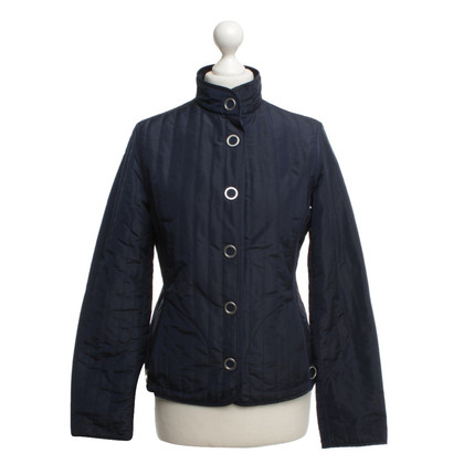 Escada Quilted jacket in dark blue