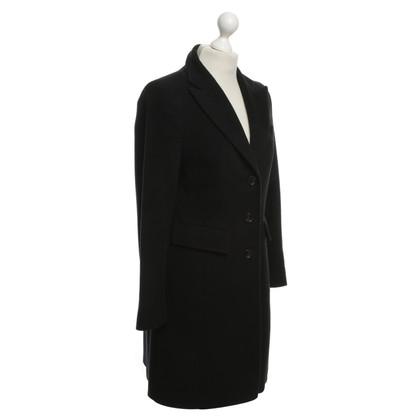 Riani Wollen jas in zwart
