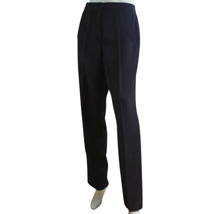 DKNY trousers in navy blue