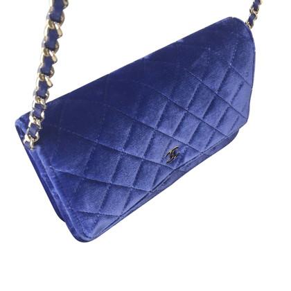 Chanel velluto Flap Bag