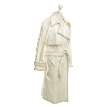 Chanel Trench in Crema