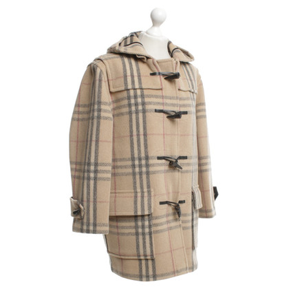 Burberry Duffle coat with Nova-Check pattern