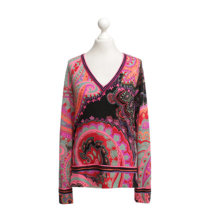 Leonard Sweater with paisley pattern