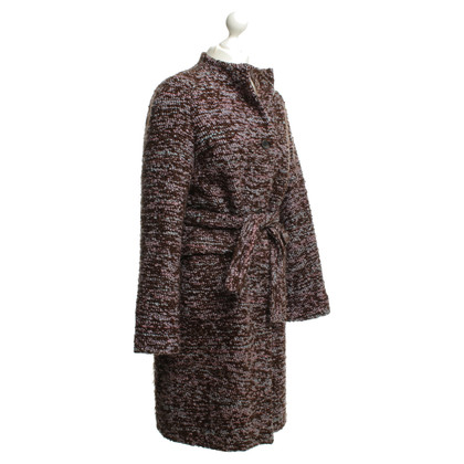 Jil Sander Winter coat with a Bouclé structure