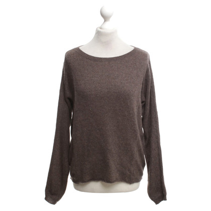 360 Sweater Pull en cachemire marron