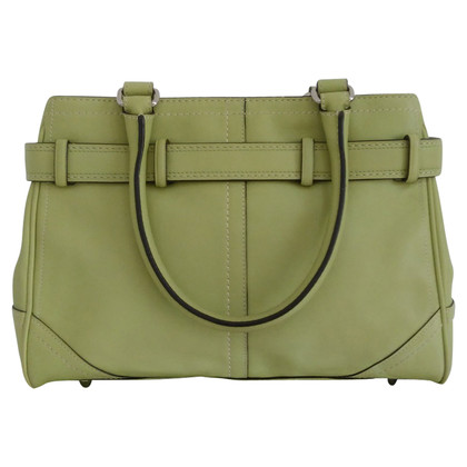 Coach Lime Green Handtas