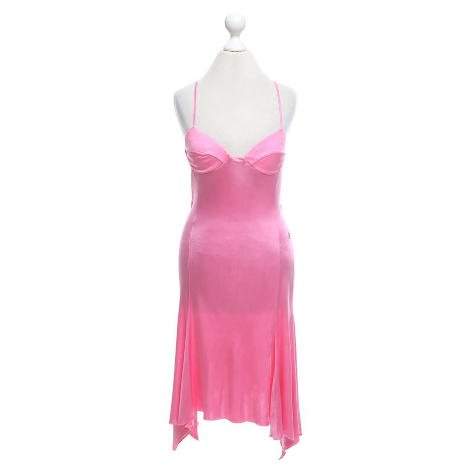 versace kleid in pink second hand versace kleid in pink. Black Bedroom Furniture Sets. Home Design Ideas