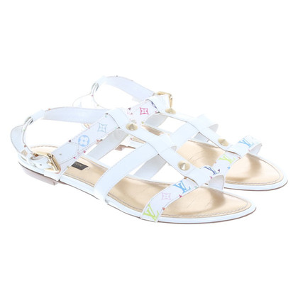 Louis Vuitton Sandals with colored Monogram