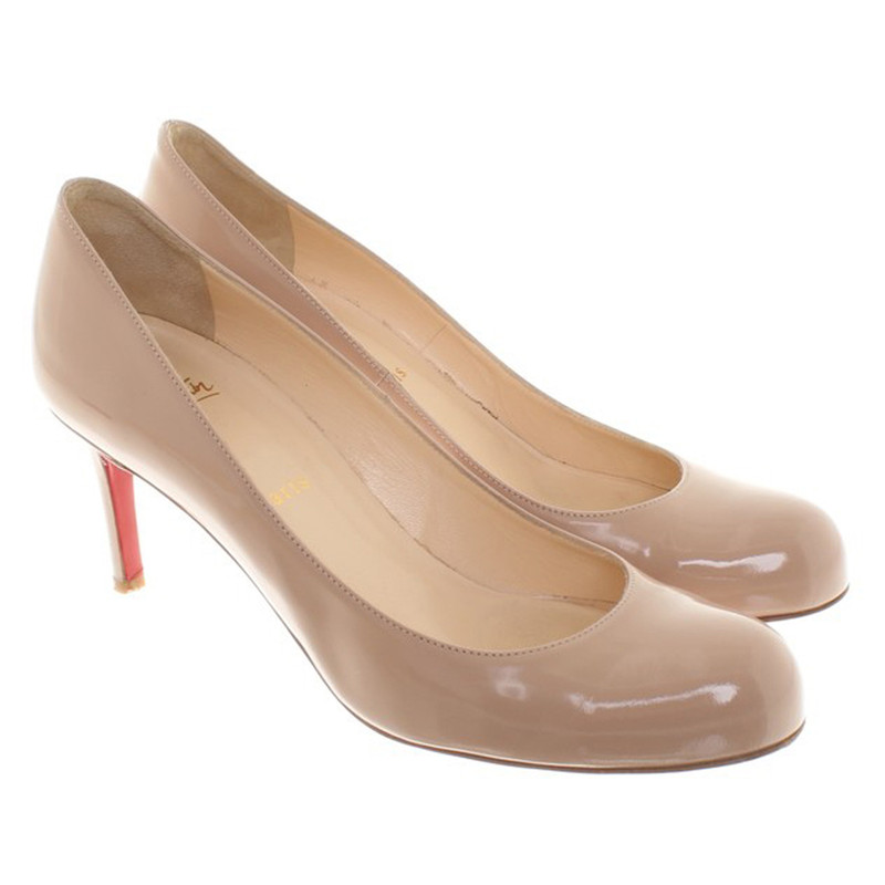 second hand christian louboutin wedding shoes