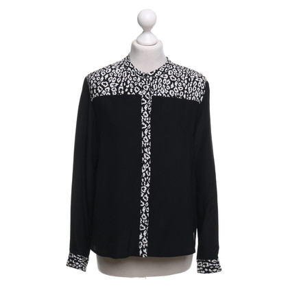The Kooples Zijden blouse met patroon