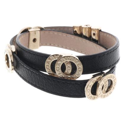 Bulgari Leather bracelet