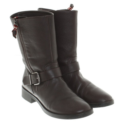 Bally Boots in Braun