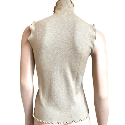 Allude Top in Beige