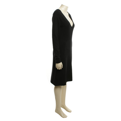 Allude Cashmere dress in black