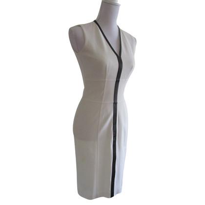Burberry Kleid mit Lederdetails