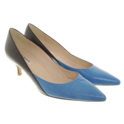 L.K. Bennett pumps in blue