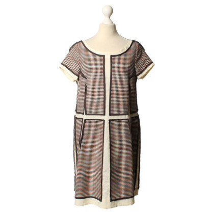 Wunderkind Dress with checked pattern
