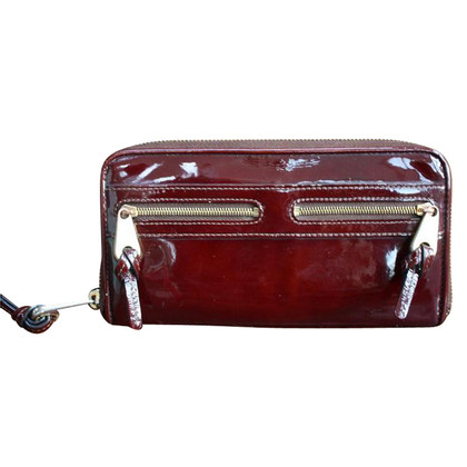 Mulberry Borsa in vernice Bordeaux