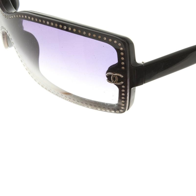 chanel sunglasses  Chanel Sunglasses in Black - Buy Second hand Chanel Sunglasses in ...
