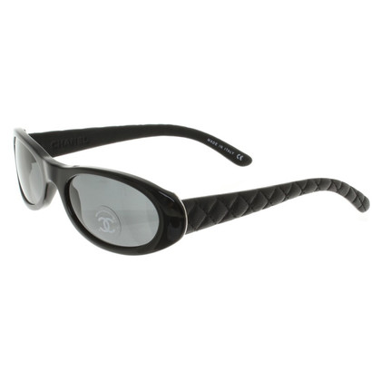 Chanel Sunglasses with leather straps