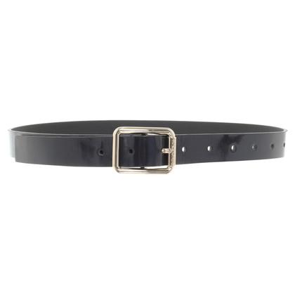 Patrizia Pepe Narrow belt in black
