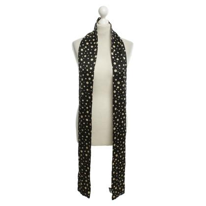 Dolce & Gabbana Fijne sjaal met dot patroon