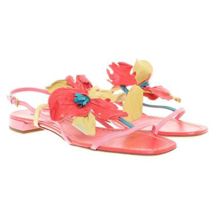 Miu Miu Sandals in tricolor