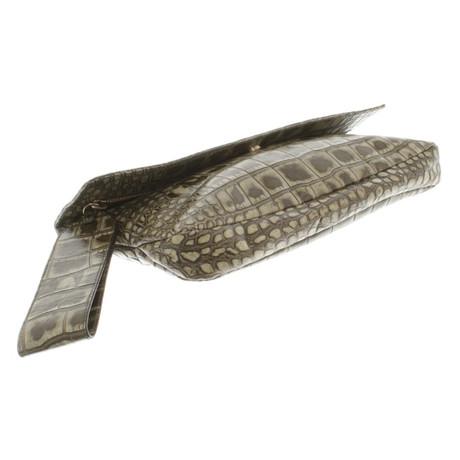 Givenchy Clutch in Grün Grün 2018 Billig Verkaufen Günstig Kaufen Auslassstellen Freies Verschiffen Footlocker Günstig Kaufen Fabrikverkauf Billig Erschwinglich SCed5YF