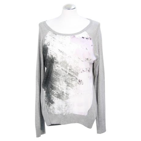Calvin Klein Pullover mit Muster Bunt / Muster Rabatt 100% Garantiert Empfehlen Zum Verkauf IejdyPCVHc
