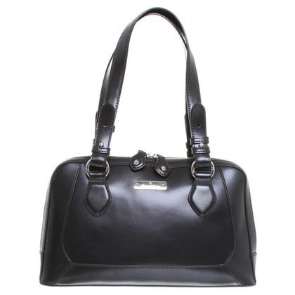 aigner handtasche in dunkelbraun second hand aigner handtasche in dunkelbraun gebraucht kaufen. Black Bedroom Furniture Sets. Home Design Ideas
