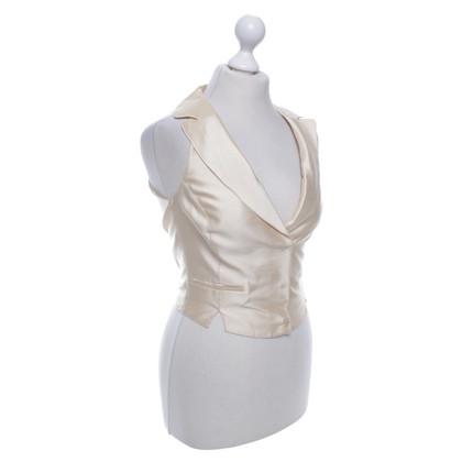 Blumarine Vest in cream white