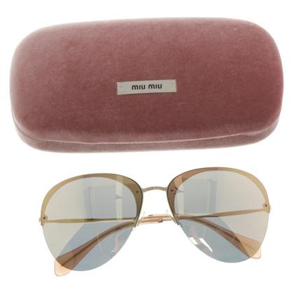 Miu Miu Sunglasses with mirrored lenses